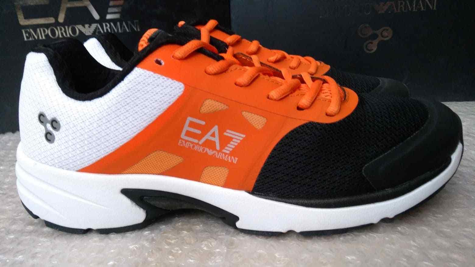 Emporio Armani EA7 C-CUBE U men's trainers size 8.5UK - Carbon Cushion Control