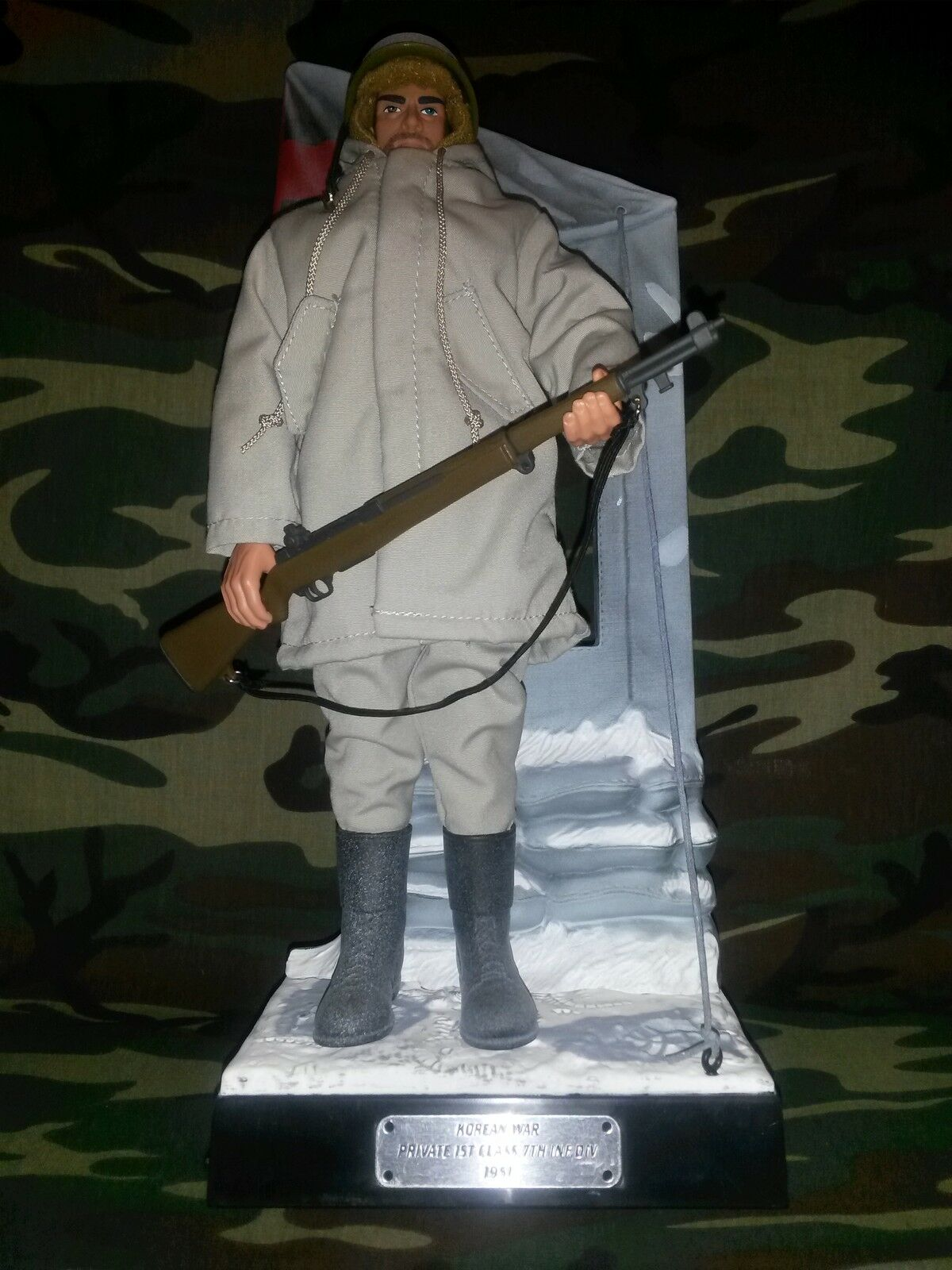 GI JOE MILLENNIUM SERIES COLLECTION KOREAN WAR US ARMY 7TH INF DIV 1951 HASBRO