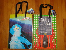 NEW TRADER JOE'S QTY 2 REUSABLE SHOPPING GROCERY ECO BAGS NORTH CAROLINA