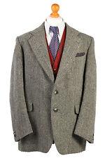 Harris Tweed Blazer Jacket Herringbone Country Hacking Wedding Size XL-HT1851