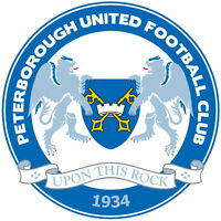 Peterborough United Football Club Vinyl Sticker Decal Soccer 4 Stickers