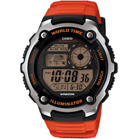 Casio Sports Gear World Time Mens Watch Ae-2100w-4avef