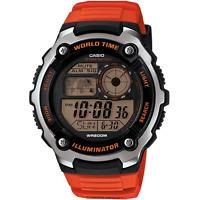 Casio Sports Gear World Time Mens Watch Ae-2100w-4avef