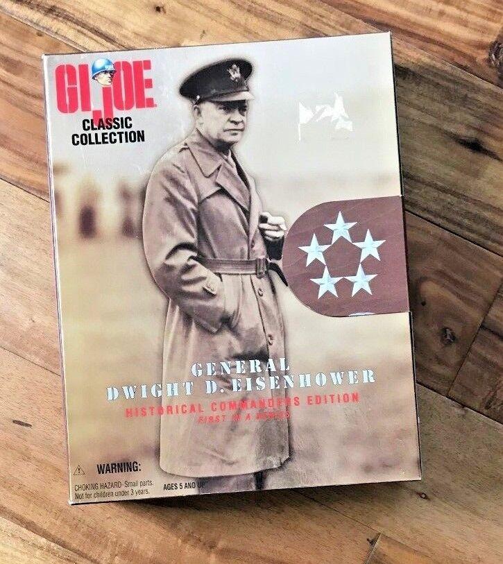 Gi - joe classic collection 5 - sterne general dwight eisenhower hasbro nib e71 d 1997