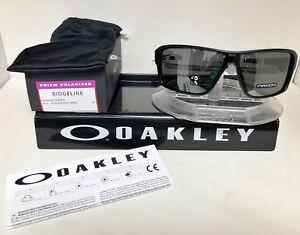432f16b672 Image is loading Oakley-RIDGELINE-SUNGLASSES-MATTE-BLACK-PRIZM-BLACK- POLARIZED-