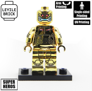 **NEW** LYL BRICK Custom Ultron Gold Lego minifigure