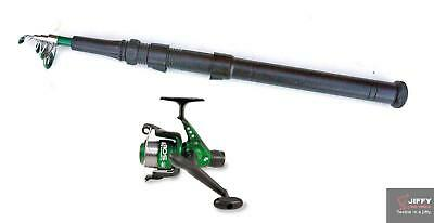 Lineaeffe drago 7ft telescopic Spinning Rod /& Sol Reel line