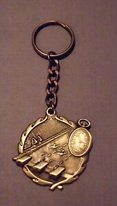 LACROSSE LAX TEAM  KEYCHAIN 3D KEY CHAIN AWARD DRIVER GOLD MEDAL MEDALLION GIFT