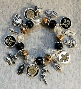 Image Is Loading New Orleans Saints Nfl Bracelet