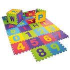36pc Alphabet Play Mat Kids Interlocking Baby Soft Eva Foam Jigsaw Puzzle Floor