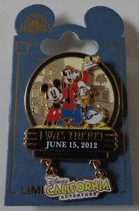 Disney-DLR-I-Was-There-Disney-039-s-California-Adventure-Opening-Day-Pin-LE