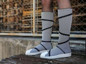Adidas Originals Superstar Primeknit High Boots Adidas