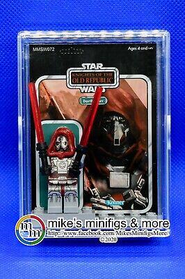 Star Wars Custom Carded Mini-figure Darth Marr Minifigure KOTOR Old Republic