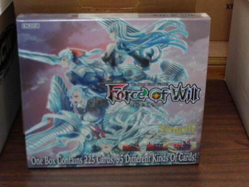 Force of Will VINGOLF SERIES 2 VALKYRIA CHRONICLES BOX SET *SEALED* 2 #saug16-55