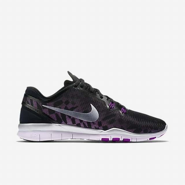 Nike Free 5.0 TR Fit 5 Metallic Metallic Metallic Purple Women 806277-003 Training Reflective OG 752570