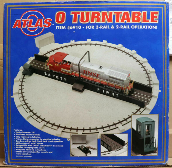 Atlas O Scale 6910 Turntable Kit C8 Rate