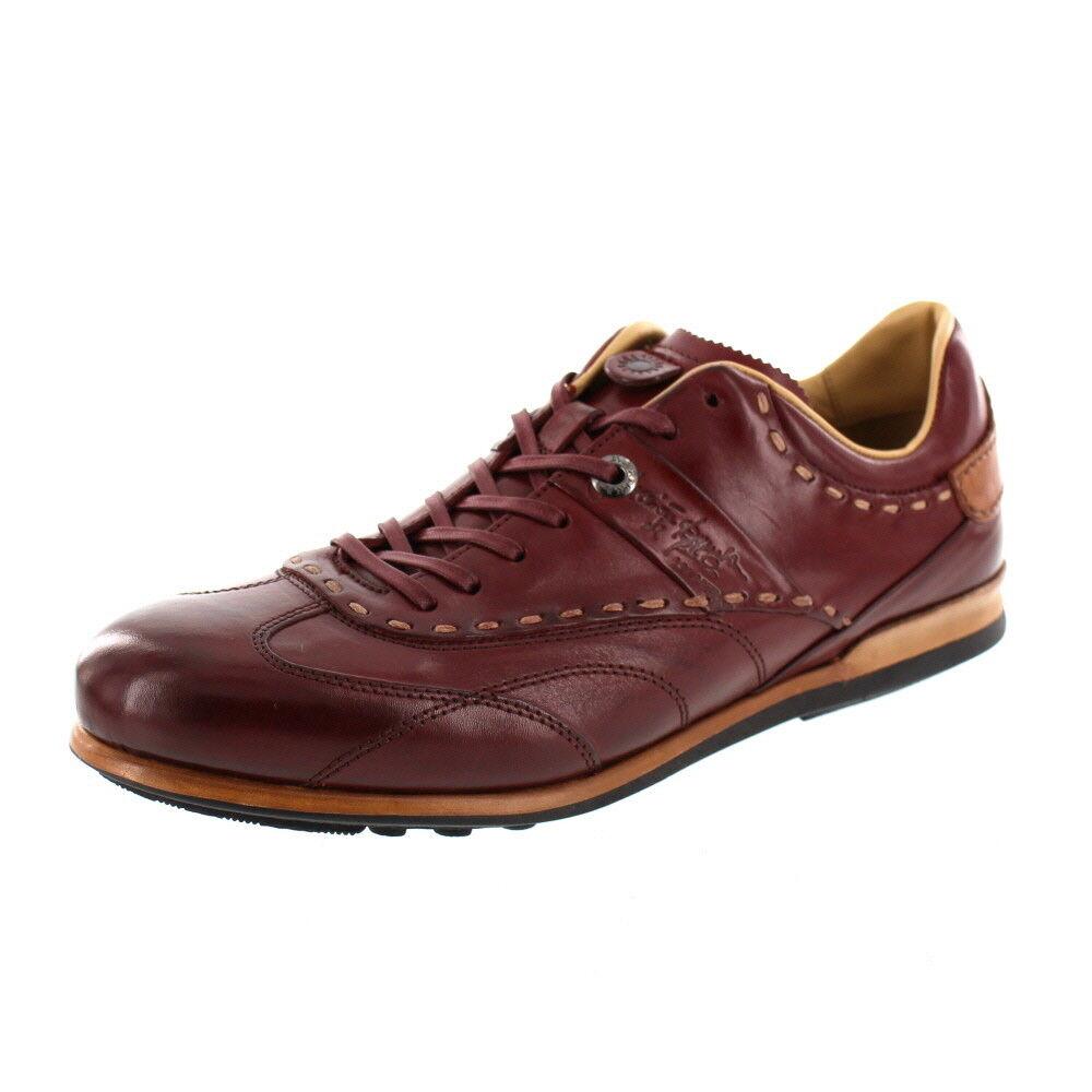 """La Martina-scarpe da ginnastica l6040143-cuero bordo  """""""