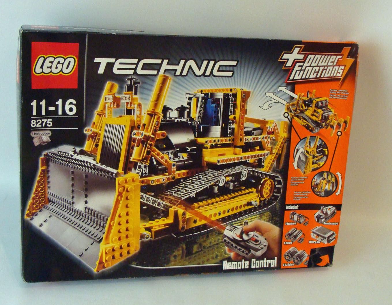 Lego® Technic 8275 - RC Bulldozer 1355 Teile 11-16 Jahren - Neu