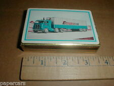 TC Transcon Trans-con Lines Vintage Semi tractor trailer Truck playing card deck