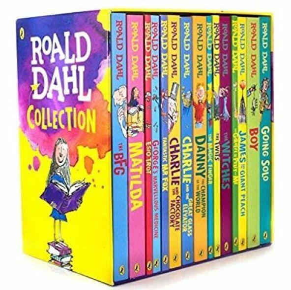 Roald Dahl 15  Book Box Set Collection, Dahl, Roald, New Book