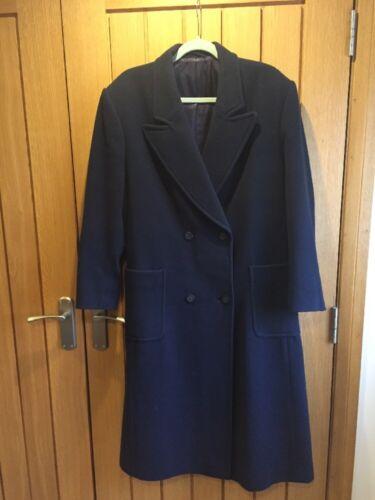Taglia Pure Wool L Next Navy Coat Ladies Zfq0U0