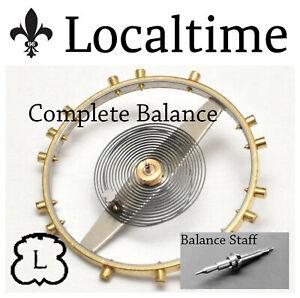 Balance-Staff-Chrono-Watch-Service-Part-LANDERON-Cal-39-47-48-51-52-149-151-etc