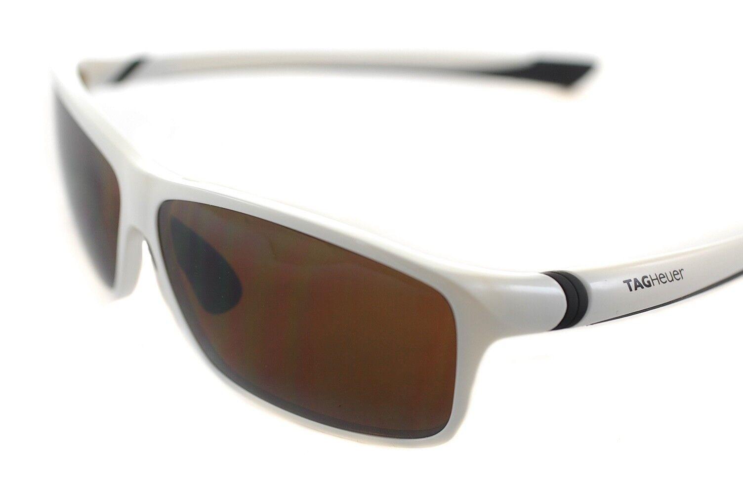 TAG Heuer 27 Degree HIGH MOUNTAIN POLARIZED 6024 107 Mens Sunglasses Weiß braun | Lebhaft und liebenswert