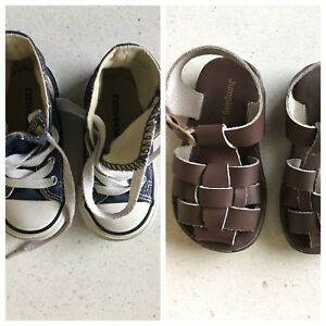 7201f5068ce3 BABY BOY S SHOES FOR SALE (SIZE 5 AND SIZE 6)  Converse And Jumping ...