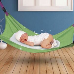 online store 1b5d7 75c10 Details about Portable Baby Infant Safety Hammock Kids Sleeping Bed Safe  Detachable Cot Crib