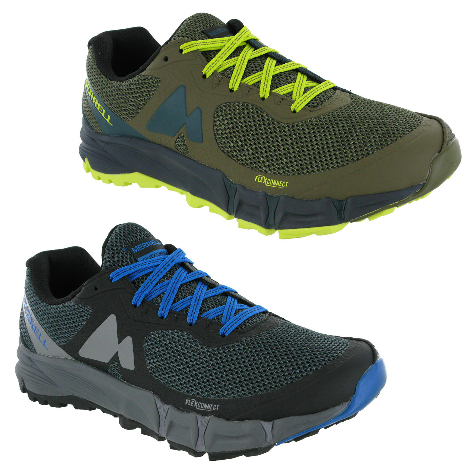 Merrell Agility Charge Flex Casual Comfy Lace Up Stylish Trainers J37711 Mens