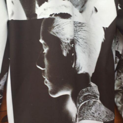 Grande Sudadera Shannon Tamaño Collage Blanco Redondo Negro Christopher Cuello SHwfqpR8