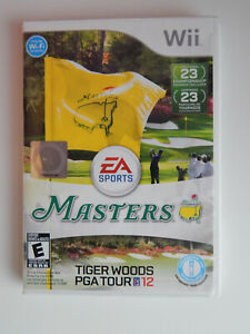 Tiger Woods PGA Tour 12: The Masters Game Complete! Nintendo Wii