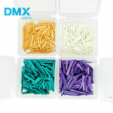 100 Pcs Box Dental Fixing Wooden Wedges For Restoration Dmx Dental