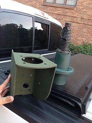 Army Marines Whip Antenna Base Fresh Paint AS-3900 & Mount HMMWV M998 Jeep LMTV