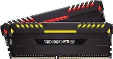 Corsair Vengeance RGB Pro 16GB (2 x 8GB) DIMM DDR4 3000 (PC4 24000) Memory (CMW16GX4M2D3000C16)