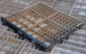 original-Setzkasten-aus-Druckerei-50x43cm-Vintage-shabby-Letterpress-wooden-tray