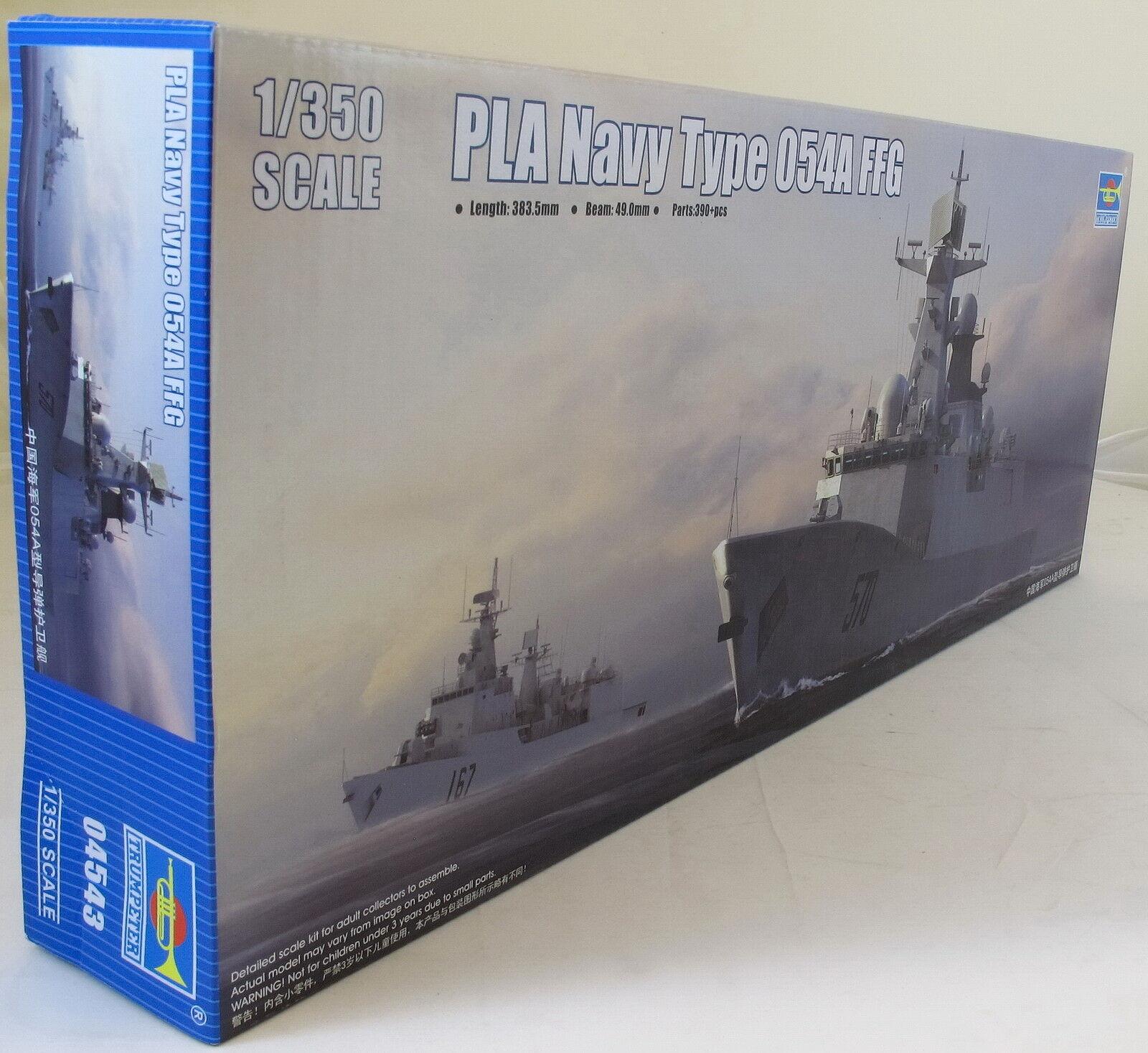 Trumpeter 1 350 04543 PLAN FFG-529 Zhoushan Model Ship Kit