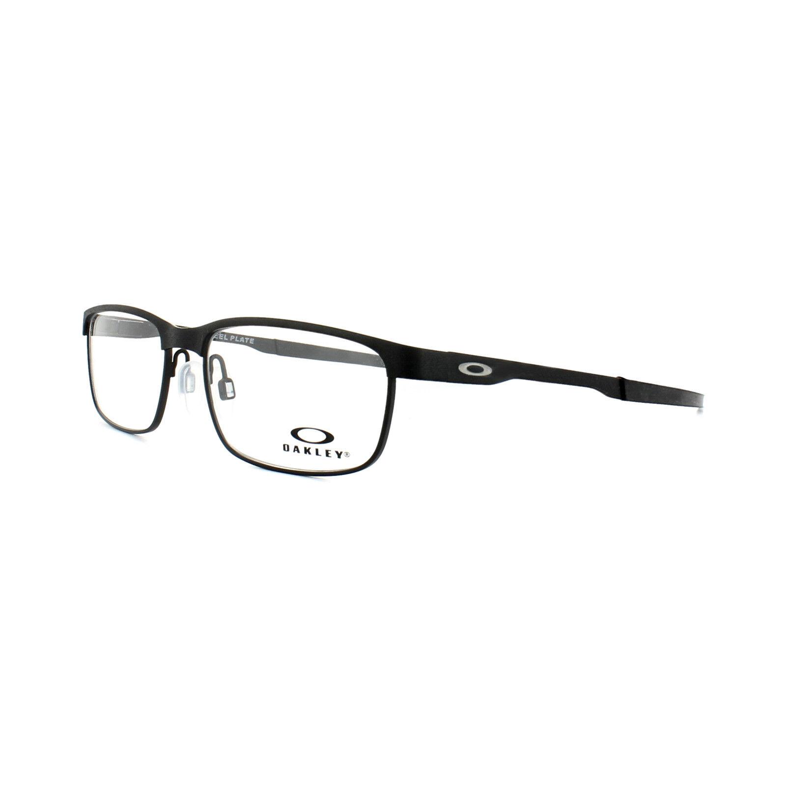 9a99847f7 Eyeglasses Oakley Steel Plate 3222-01 54 Powder Coal for sale online ...