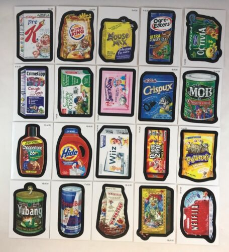 WACKY PACKAGES ALL NEW SERIES 7 ANS7 2010 Complete WACK-O-MERCIAL Card Set 20