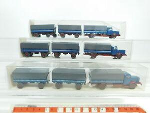 BD356-0-5-3x-Wiking-H0-1-87-29-478-Pritschen-Lastzug-LKW-Buessing-8000-NEUW-OVP