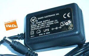 Lei Alimentazione Elettrica MU15-050200-C5 5.0v 2.0A Spina Ue