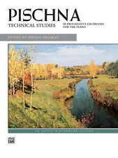 PISCHNA/TECHNICAL STUDIES, Piano Solo, ALFRED - 637