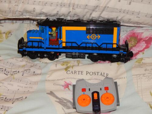 LEGO TRENO 60052 Blu Cargo locomotiva anche 7939 60098 60198 vedi descrizione 2