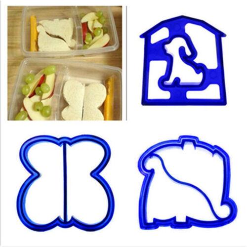Dinosaur Butterfly Shape Sandwich Bread Cutter Mold Cake Toast Mould MakerÁÁ