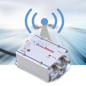 20DB-2-vias-Cable-TV-Amplificador-Booster-de-senal-de-antena-Divisor-HDTV-AMP-ZZ