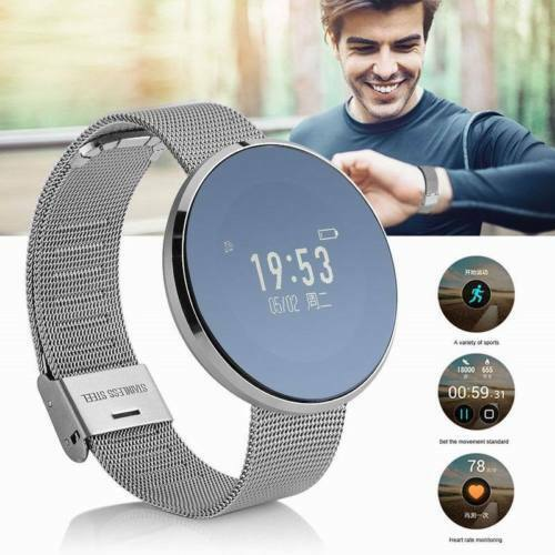 Waterproof Smart Watch Touch Screen Phone Mate For IOS Andro