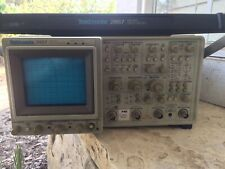 Calibrated Tektronix 2467 350mhz Briteye Oscilloscope5tv6freq Ctr10gpib