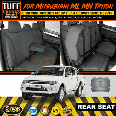 Tuff Hd Trade Rear Canvas Seat Covers Triton Mn Ml Glx Glr