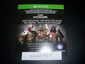 Details about For Honor Legacy Battle Pack Code DLC Download XB1 XB 1 Xbox  One