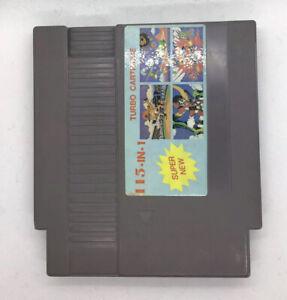 Super-115-in-1-Multicart-Nintendo-NES-Original-Release-Turbo-Cartridge-Very-Rare